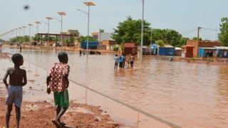 plusieurs immeubles se sont effondrées dans la capitale nigérienne