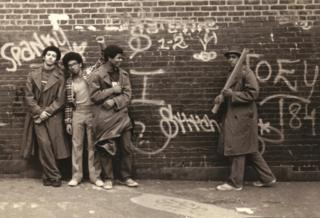 Graffiti and fashion in 1973, New York
