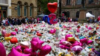 Tributes St Ann's Square
