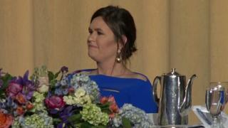 Sarah Sanders attends White House Correspondents' Dinner