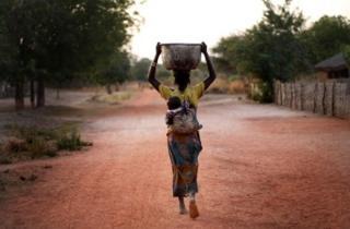 centrafrique, rca, eau potable