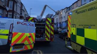 Emergency services in Charles Street