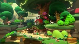 Screenshot from Lucky's Tale