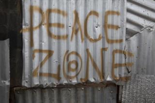 Graffiti in Korogocho
