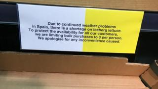 Sign in Tesco Extra, Cirencester