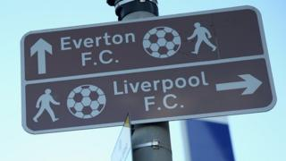 Football ground street signs