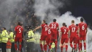 Abakinyi ba Liverpool bariko barigina intsinzi