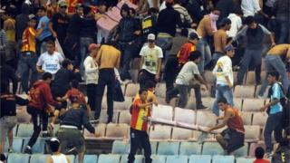 espérance de tunis, club africain, tunisie