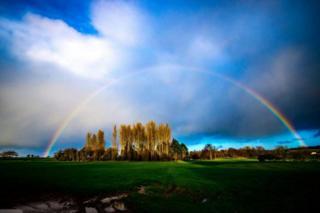 Rainbow over Ayr