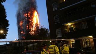 Пожар в Гренфелл-тауэр, Лондон