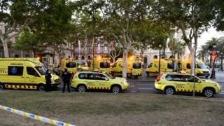 напад в Барселоні