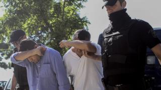Yunanistan'a kaçan askerler savcı karşısına çıkarıldı