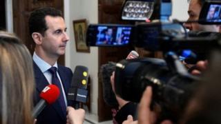 Suriye lideri Beşar Esad