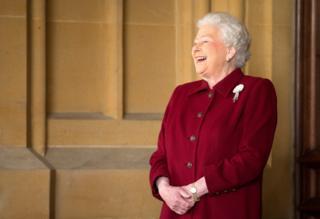 The Queen in 2014