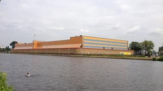 De Schie prison in Rotterdam