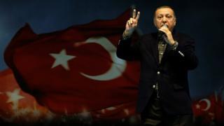 Madaxweyne Erdogan ayaa hadalkan ka sheegay isu soo bax ka dhacay magaalada Istanbul