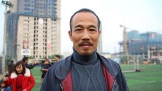 Ông Vũ Văn Hùng hay viết blog về các vấn đề xã hội với bút danh Tụ Tinh Thần.