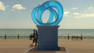 Escape sculpture mock-up