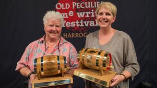 Val McDermid and Clare Mackintosh