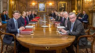 The Brexit sub-committee at Chequers