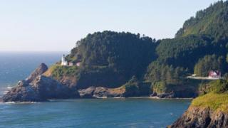 俄勒岡州,海岸,燈塔(圖片來源:Paul Thompson Images/Alamy Stock Photo)