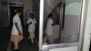 больнице в Мумбае