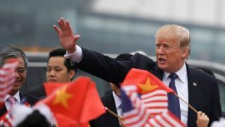 Дональд Трамп во Вьетнаме