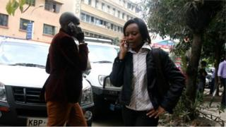 Abakoresha telefoni ngendanwa muri Kenya
