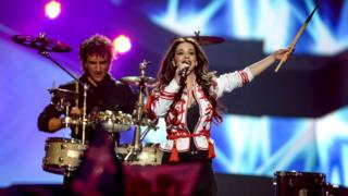 Болгарская исполнительница на конкурсе Евровидения-2013