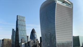 20 Fenchurch Street also referred to as the Walkie Talkie building