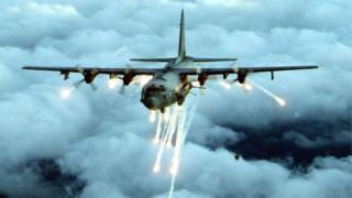 เกมจำลองศักยภาพในการโจมตีของเครื่องบินแบบ เอซี-130