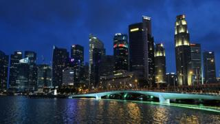 Singapore skyline - file pic