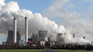 RWE's Niederaussem power plant in Bergheim, Germany