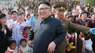 Kiongozi wa Korea Kaskazini Kim Jong-Un