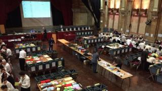 Ipswich Borough Council election count