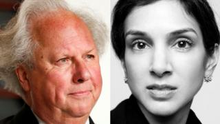 Graydon Carter and Radhika Jones
