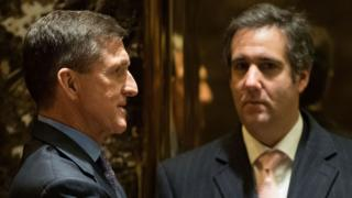 Michael Flynn and Michael Cohen