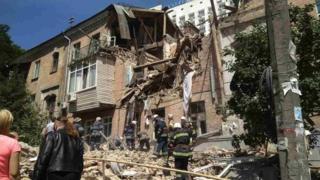 вибух в будинку в Києві