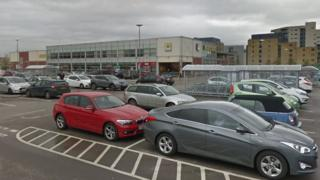 Morrisons in Cardiff Bay