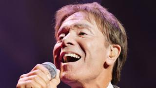 Sir Cliff singing