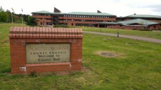 County Hall, Morpeth
