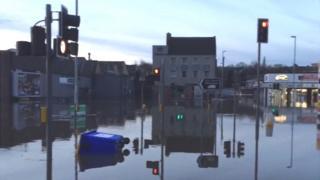 Flooded scene