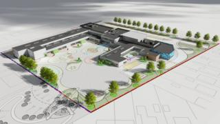 New Grangemouth school