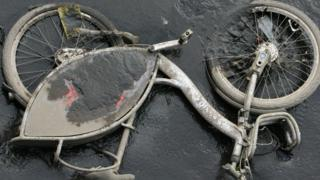 Belfast Bike in River Lagan
