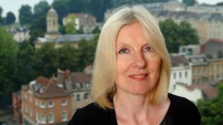 Helen Dunmore in Clifton, Bristol on 9 May 2011