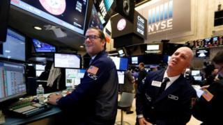NYSE traders