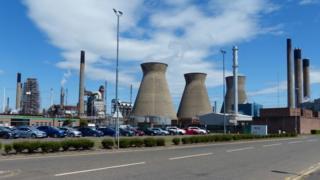 Grangemouth petrochemicals plant