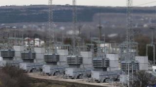 Ukrainian power station