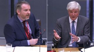 Rhodri Talfan and Lord Tony Hall