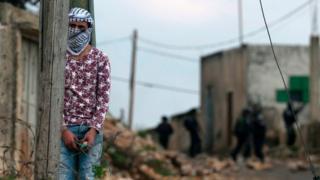 Nablusda fələstinli